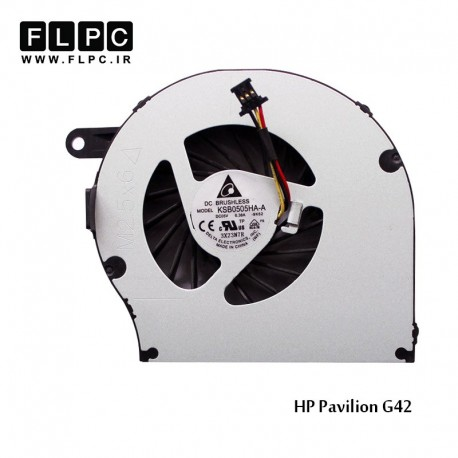 تصویر فن لپ تاپ اچ پی HP Pavilion G42 Laptop CPU Fan برد سبز