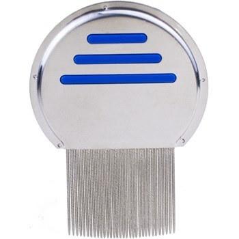 شانه ضد شپش  مدل  تمام استیل   پاک کننده  تخم  شپش | anti lice comb metal