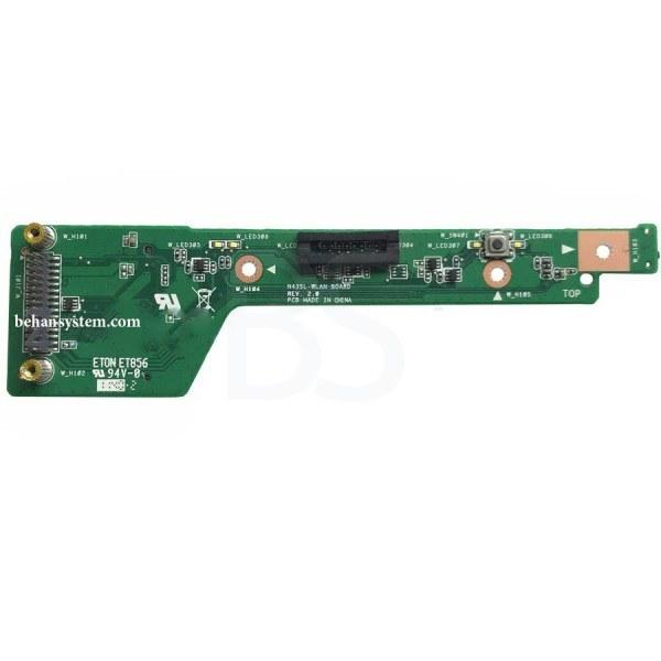 تصویر برد LAN لپ تاپ ASUS مدل N43