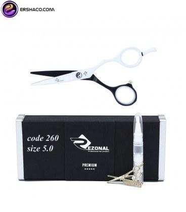 تصویر قیچی آرایشگری رزونال سایز 5 اینچ Rezonal RL _260