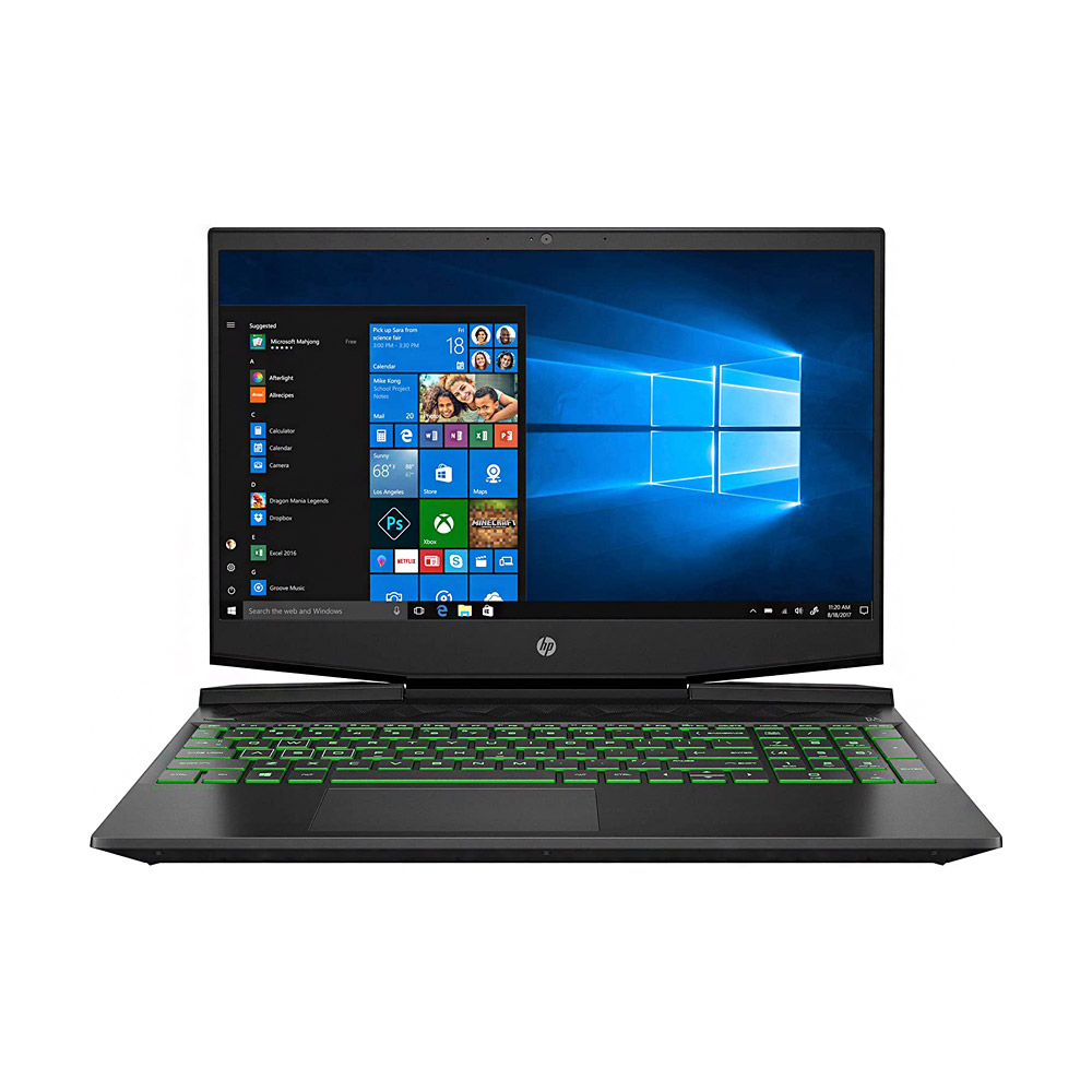 تصویر لپ تاپ گیمینگ اچ پی مدل پاویلیون 15-dk0056wm HP Pavilion 15-dk0056wm i5 9300H 16GB 1TB+256GB 4GB FHD Gaming Laptop