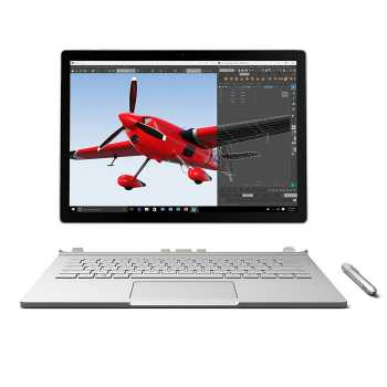 Microsoft Surface Book | 13 inch | Core i7 | 8GB | 256GB | 2GB | لپ تاپ ۱۳ اینچ مایکروسافت Surface Book
