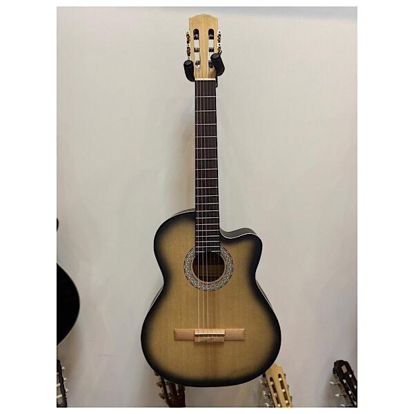 گیتار کلاسیک fender فندر پیکاپ دار آکبند
