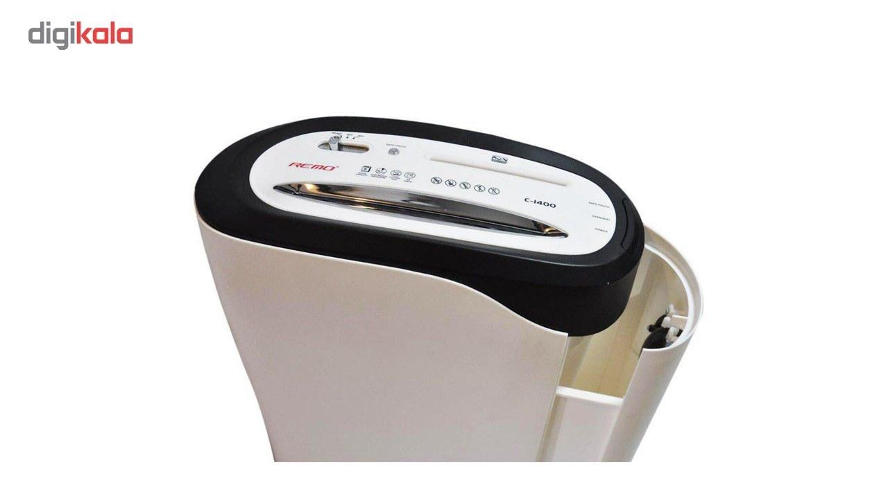 img کاغذ خردکن رمو مدل c-1400 Remo c-1400 Paper Shredder