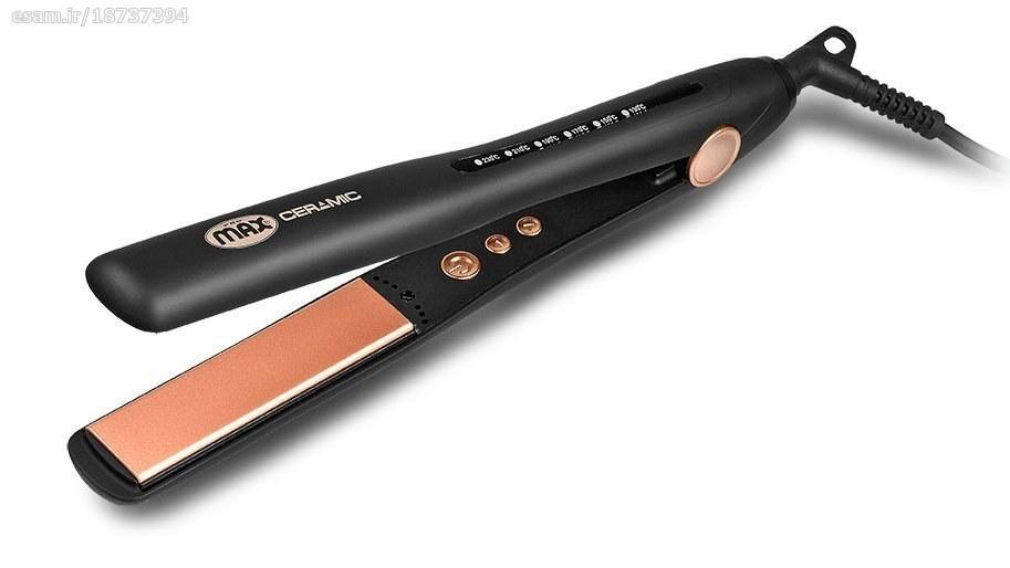 تصویر اتو مو حرفه ای با صفحه کراتین پرومکس مدل 5757k Promax Professional 5757K Hair Iron