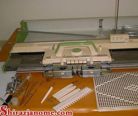 عکس ماشین بافندگی برادر مدل 820 با کشباف  ماشین-بافندگی-برادر-مدل-820-با-کشباف