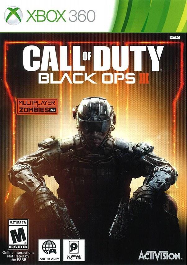 تصویر خرید بازی 3 Call Of Duty Black Ops – کال اف دیوتی برای XBOX 360