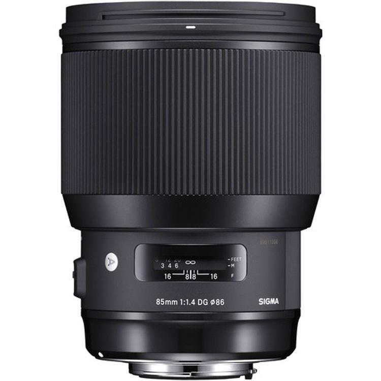 تصویر Sigma 85mm f/1.4 DG HSM Art Lens for Nikon F
