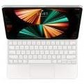 تصویر مجیک کیبورد آیپد پرو 12.9 اینچ نسل پنجم 2021 اپل Magic keyboard iPad Pro سفید Apple Magic keyboard 2021 for iPad Pro 12.9-inch 5th generation White