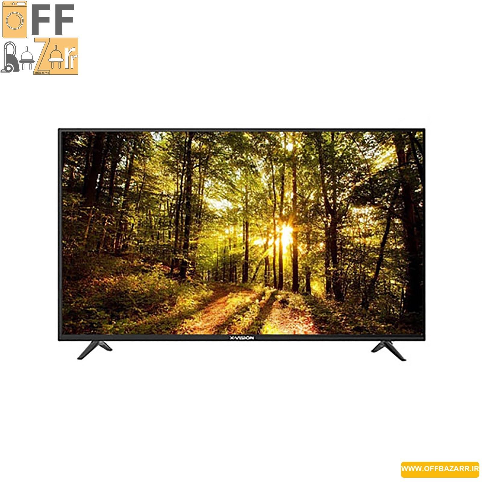 تصویر تلویزیون 43 اینچ ایکس ویژن مدل XK565 X.Vision 43XK565 TV