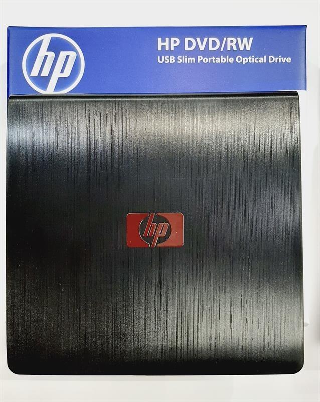 تصویر درایو نوری اکسترنال اسلیم اچ پی یو اس بی 3 Hp external DVD-RW SLIM USB 3.0