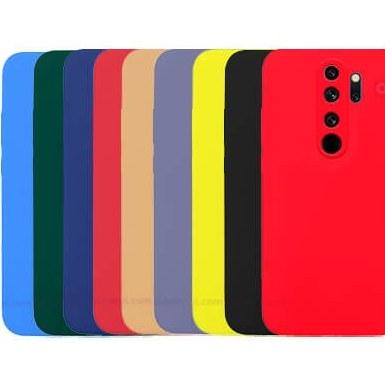 تصویر قاب گوشی شیائومی Redmi Note 8 Pro مدل پشت مات محافظ لنزدار Camera Lens Protect Hybrid Simple Matte Pc Phone Case for Xiaomi Redmi Note 8 Pro
