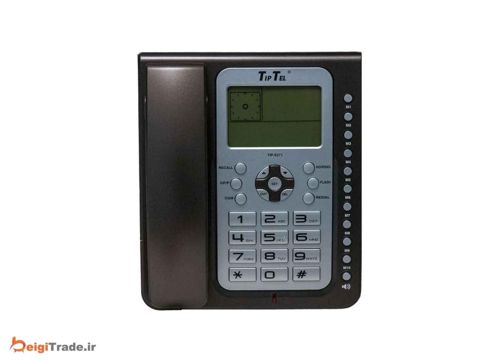 تصویر تلفن تیپ تل مدل TIP-6271