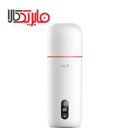 تصویر کتری برقی درما مدل DR035 Deerma Portable Electric Thermos Bottle Cup dr035