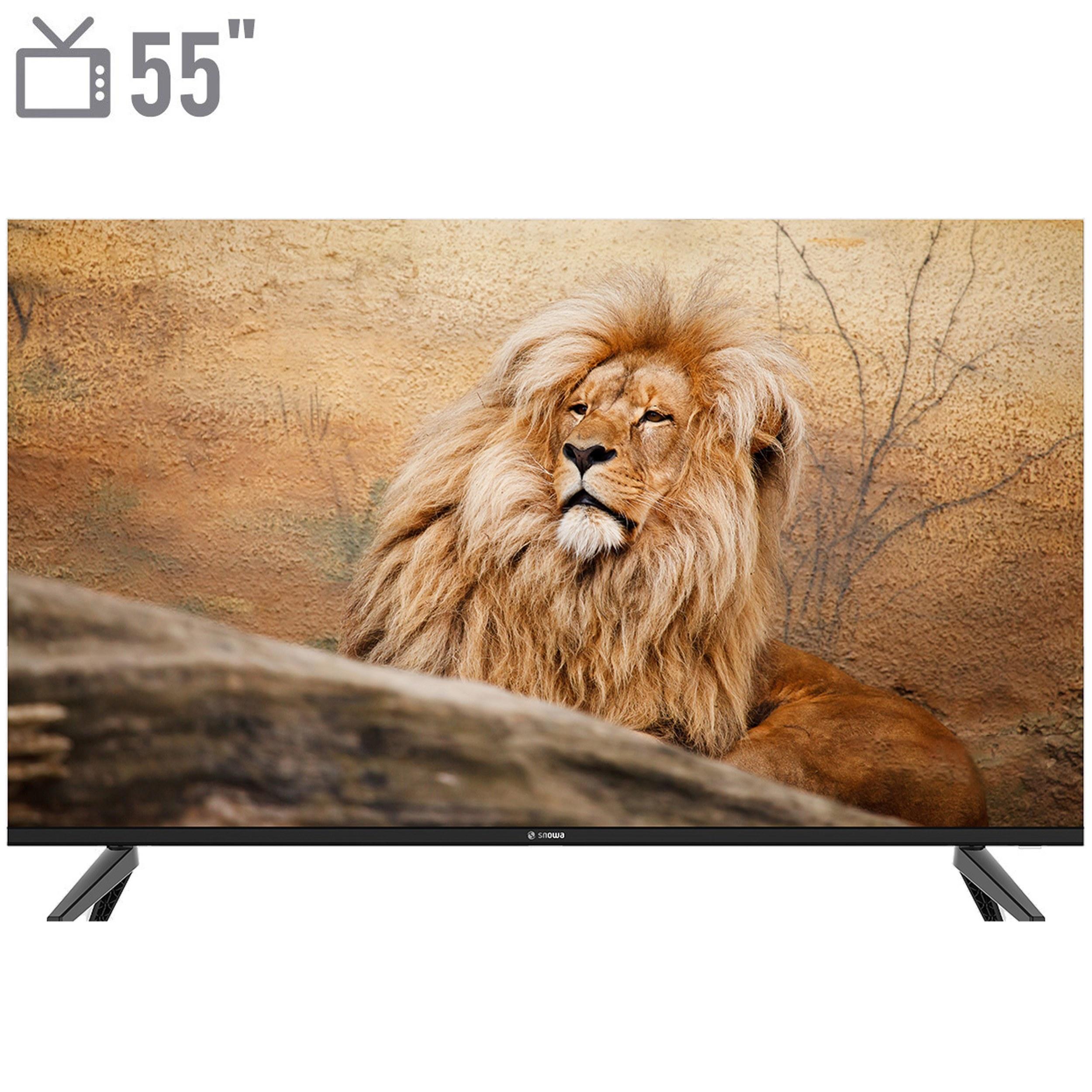 تصویر تلویزیون ال ای دی اسنوا مدل SLD-55SA260U سایز 55 اینچ Snowa SLD-55SA260U LED TV 55 Inch