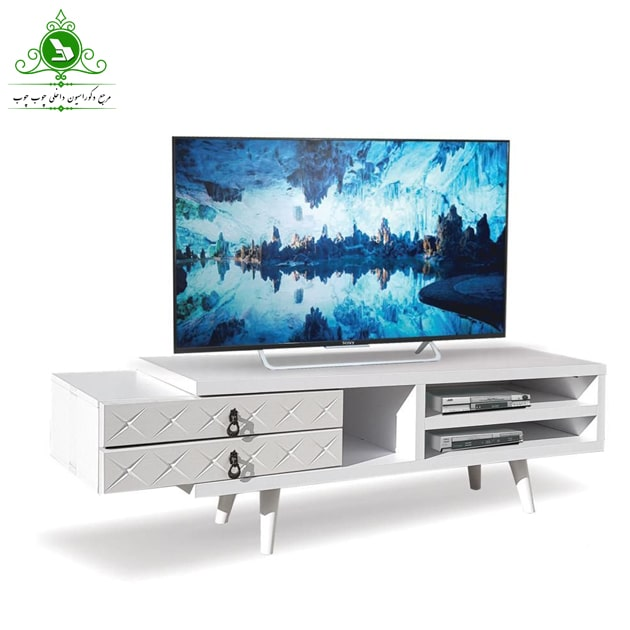 تصویر میز تلویزیون مدل ۱۳۴ | فروشگاه اینترنتی چوب چوب