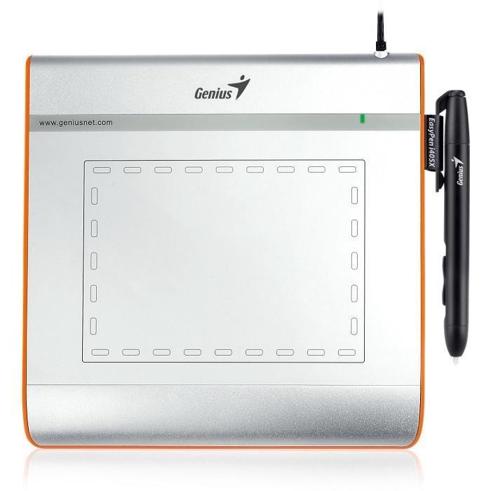 تصویر قلم نوری جنیوس مدل ایزی پن آی 405 ایکس قلم نوری , صفحه دیجیتال جنیوس EasyPen i405X Digital Pen