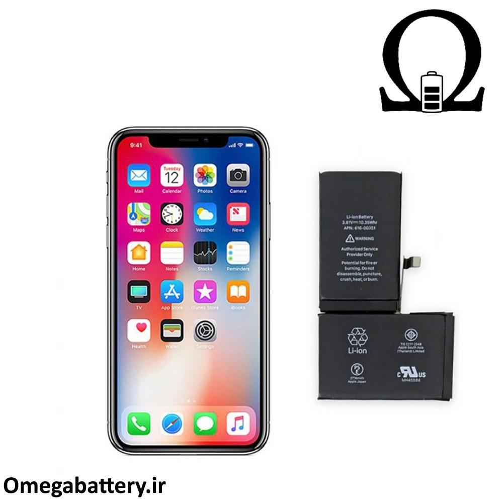 main images باتری اصلی گوشی iPhone X