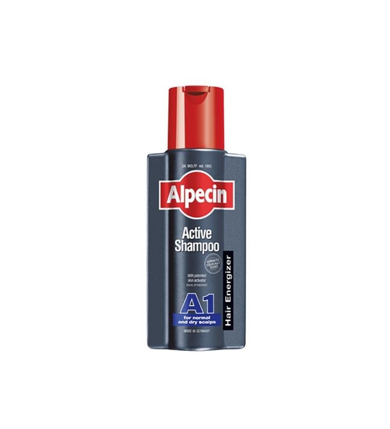 عکس شامپو اکتیو A1 آلپسین انرژایزر Alpecin Energizer Avtive Shampoo A1 شامپو-اکتیو-a1-الپسین-انرژایزر