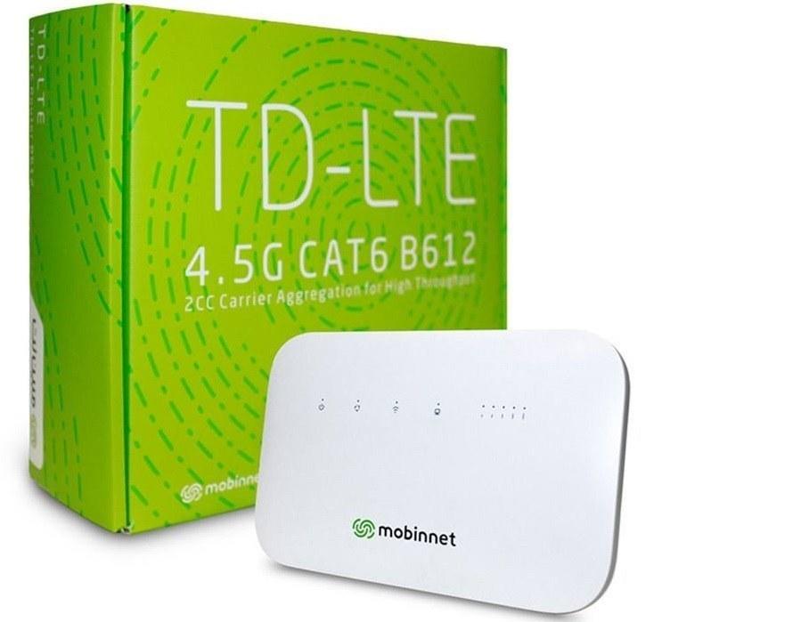 تصویر مودم TD-LTE مبین نت مدل Huawei B612 به همراه 700 گیگابایت اینترنت 12 ماهه