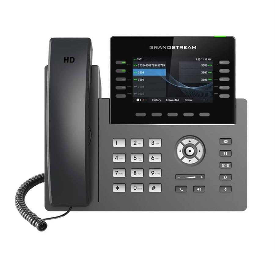 تصویر تلفن VoIP گرنداستریم مدیریتی GRP2615