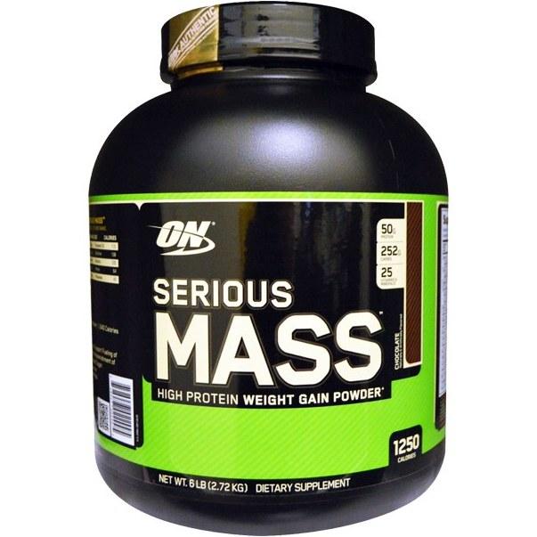پودر گینر سریوس مس اپتیموم نوتریشن ۲٫۷۲ کیلوگرم   Optimum Nutrition Gainer Serious Mass Powder 2.72 kg