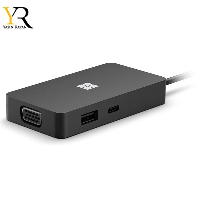 تصویر مبدل چندگانه مایکروسافت سرفیس Microsoft Surface USB-C Travel Hub  1E4-00001