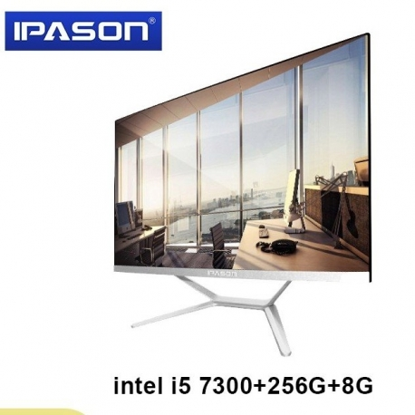 main images مانیتور دسکتاپ All in one مدل IPASON Intel I5 7300HQ All in One PC Desktop Computer 23.8 Monitor 8GB 256GB SSD