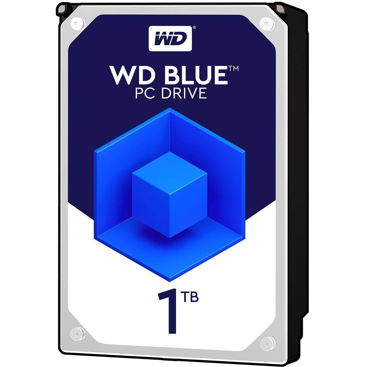 تصویر هارد دیسک اینترنال blue 1tb وسترن دیجیتال مدل wd10ezex western digital blue 1tb wd10ezex internal hard drive