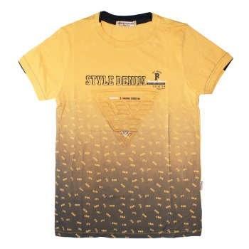تی شرت پسرانه بهامکس مدل Denim کد Y03 |