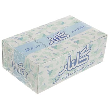 صابون گلنار مدل Coconut Oil بسته 72 عددي | Golnar Coconut Oil Soap 130gr Pack Of 72