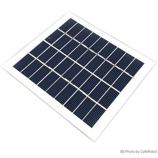 پنل خورشیدی - سولار پنل - سلول خورشیدی 9 ولت 2 وات