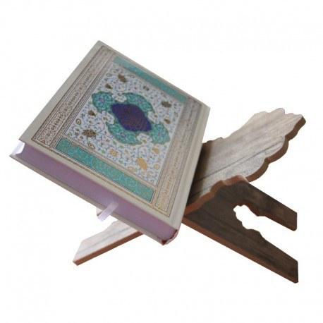 تصویر رحل قرآن چوبی