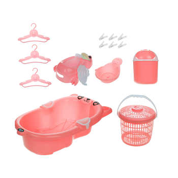 ست وان کودک ارابه مدل Simple | Arabeh Simple Baby Bath Tub Set