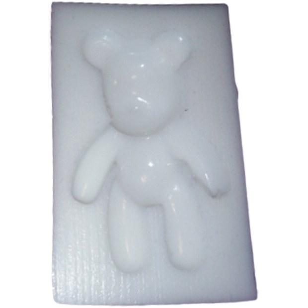 تصویر قالب سیلیکونی رزین طرح خرس عروسکی