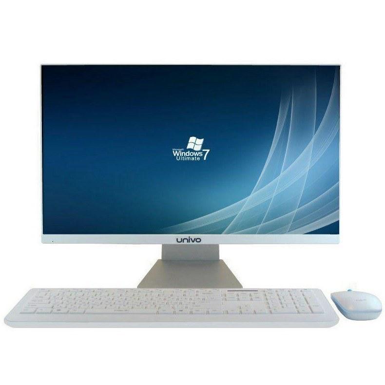 کامپیوتر آماده یونیوو مدل T۲۲۵ با پردازنده پنتیوم | Univo T225 G4400  4GB 1TB Intel All-in-One PC