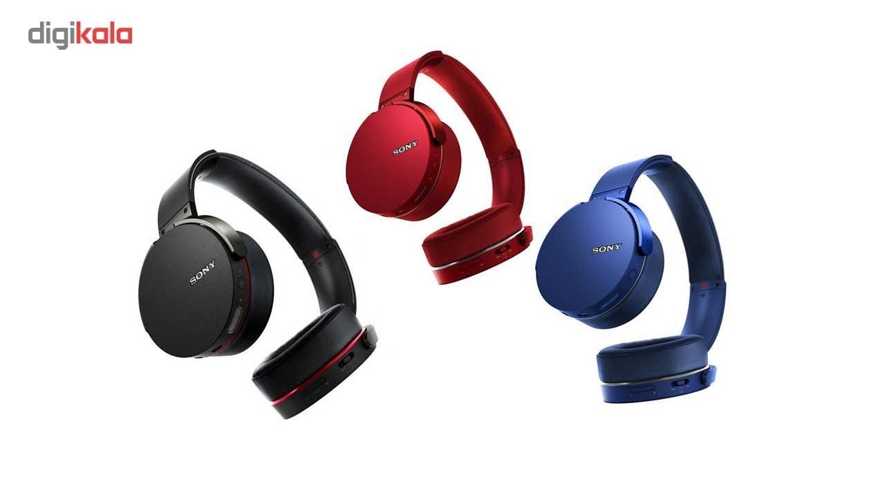 img هدفون با سیم سونی مدل MDR-XB550AP Sony MDR-XB550AP Wired HeadPhones