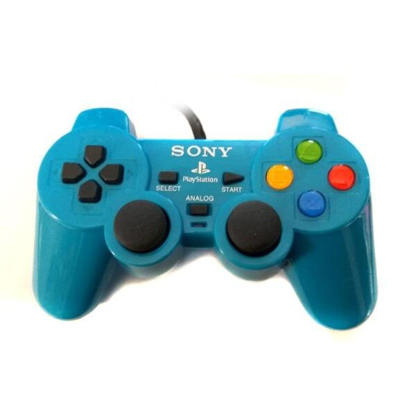 دسته بازی SONY پلی استیشن 2 آبی |