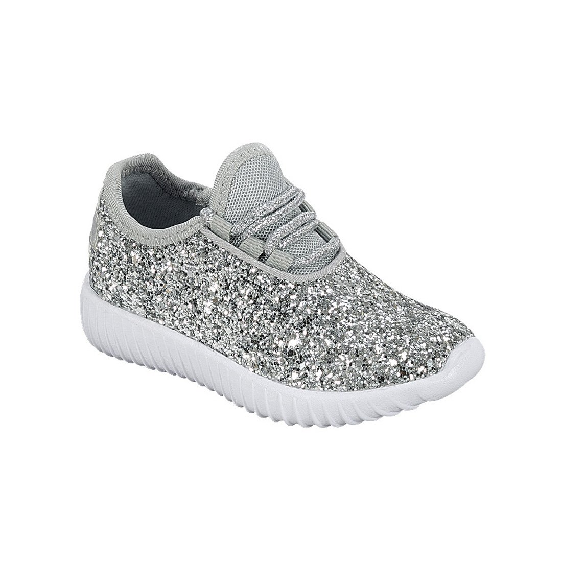 Link Lace up Rock Glitter Fashion Sneaker For Children/Girl/Kids |