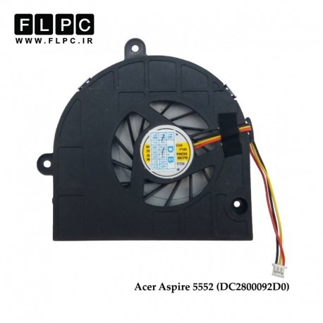 تصویر فن لپ تاپ ایسر Acer Aspire 5552 Laptop CPU Fan برعکس