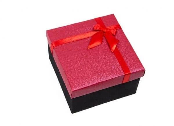 تصویر جعبه کادویی مدل پاپیون سایز بزرگ