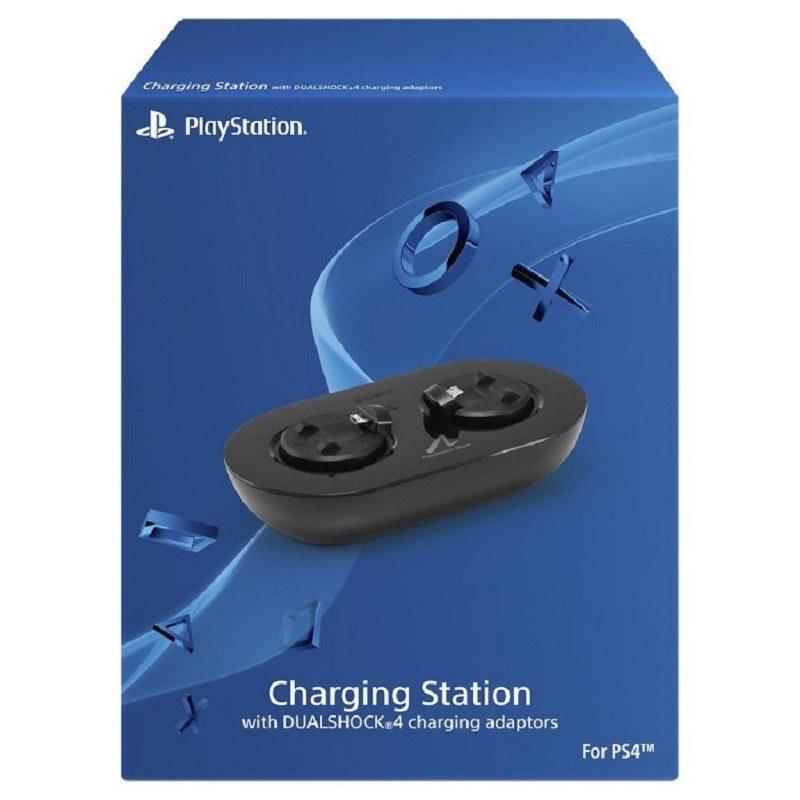 تصویر پایه شارژر اصلی دسته و موو پلی مناسب پلی استیشن Dualshock 4 Charging Station charging station with dualshock 4 charging adaptors for ps4