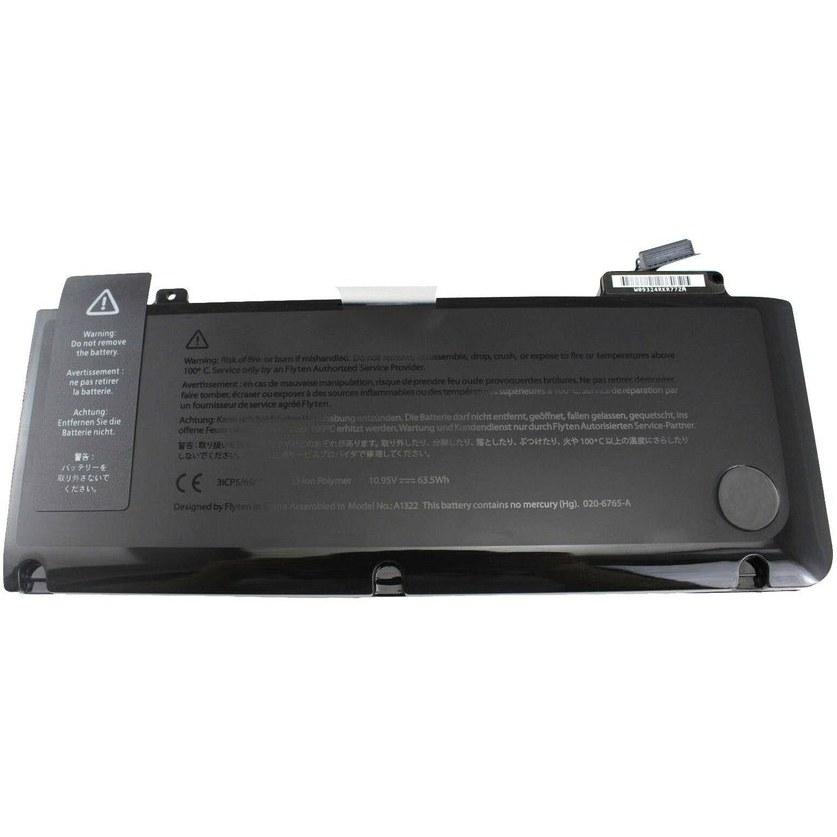 تصویر باتری مک بوک پرو 13 اینچ 2009 – 2012 مدل A1278 – مدل باتری A1322