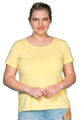 عکس تیشرت سایز بزرگ زنانه کد P154  تیشرت-سایز-بزرگ-زنانه-کد-p154