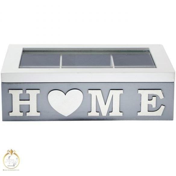 تصویر جعبه چای و دمنوش ۶ خانه HOME