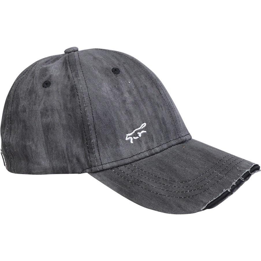 تصویر کلاه مردانه کتانFOX ذغالی