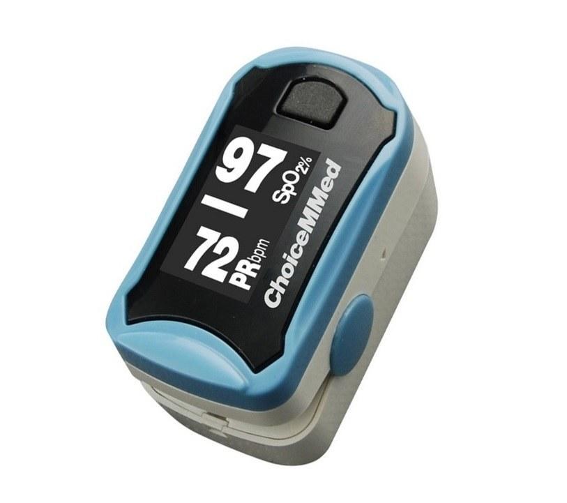 تصویر پالس اکسیمتر چویس مد مدل Oxy watch ا choicemmed pulse oximeter choicemmed pulse oximeter