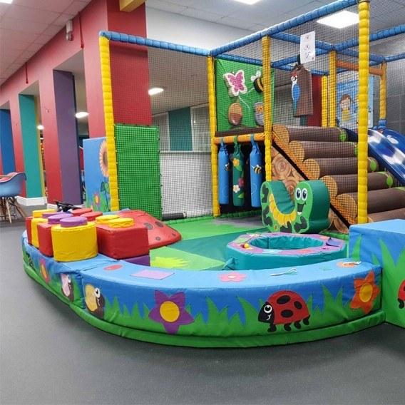 بلوک های جدا کننده فضای مهد کودک فومی |