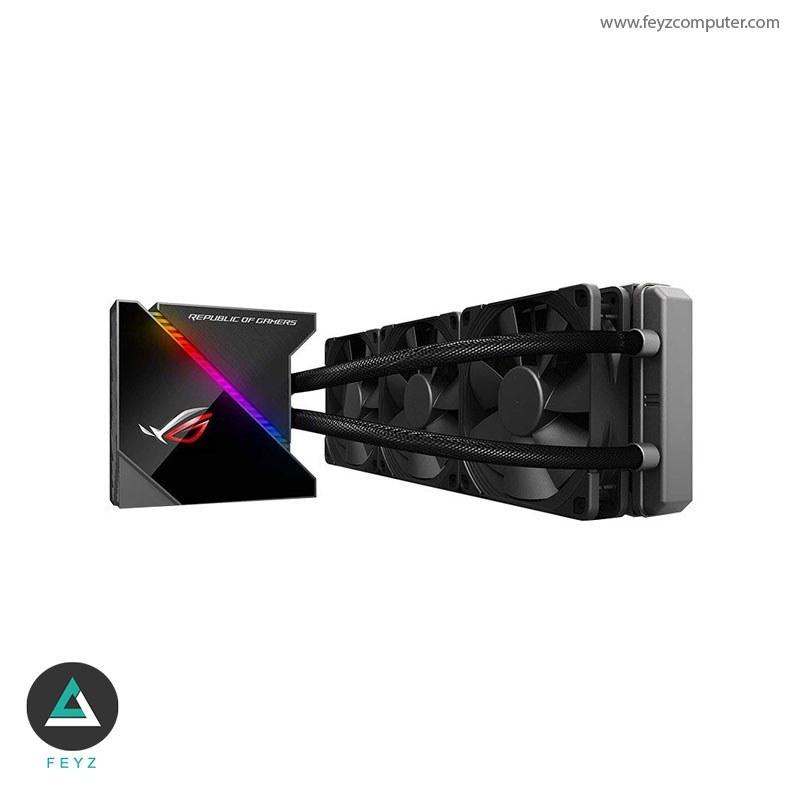 تصویر خنک کننده مایع پردازنده ایسوس ROG RYUJIN 360 RGB ASUS ROG RYUJIN 360 RGB AIO Liquid CPU Cooler