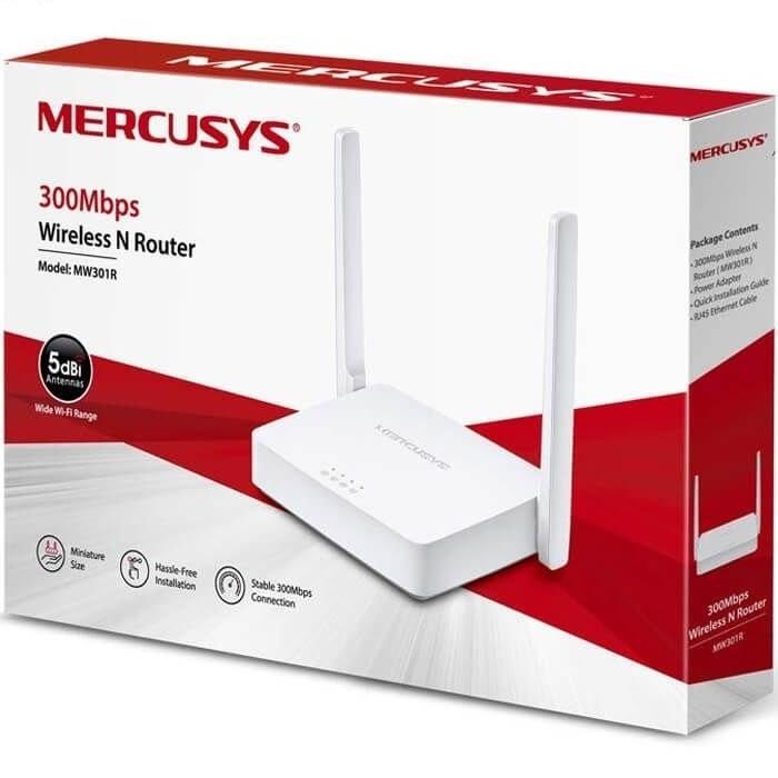 تصویر روتر مرکوسیس N300 مدل MERCUSYS MW301R MERCUSYSMW301R Wireless N300Mbps Router